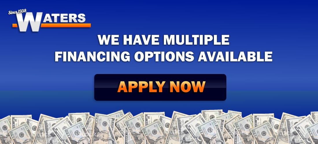 We have Multiple Financing Options Available